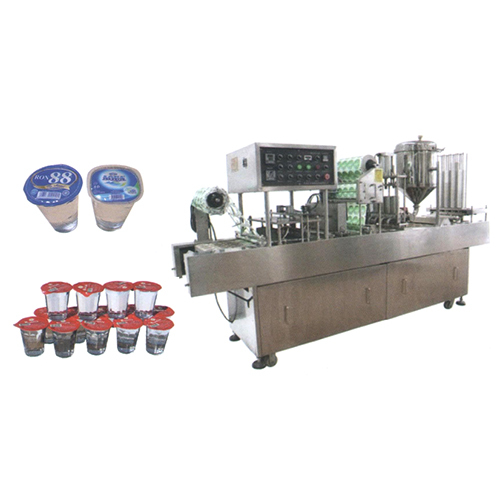 Automatic Cup Rinsing Filling and Sealing Machine