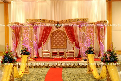 Butterfly Theme Crystal Mandap