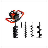 52 CC Earth Auger With 4 inch Auger Bit