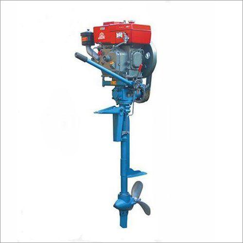 4 HP Diesel Outboard Boat Motor