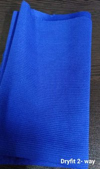 Polyester Dryfit 2- Way Lycra Fabric