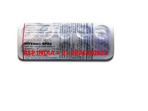 Hifenac Spas Tablets
