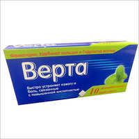 Medicine Tablet Mono Carton