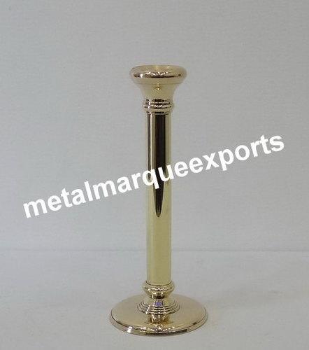 Brass Shining Polish Candle Pillar Holder