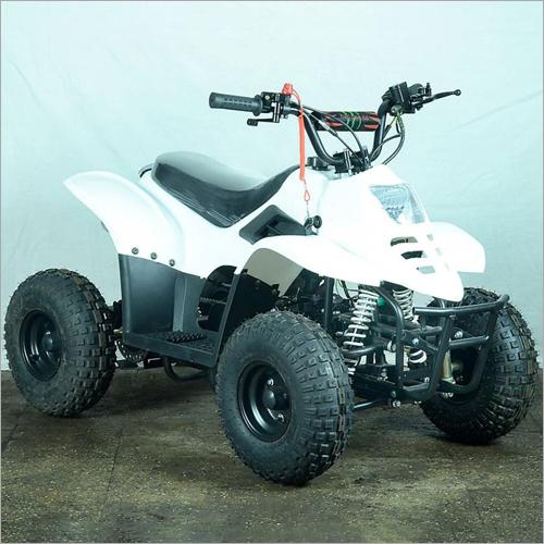 White -80CC Junior ATV Bike