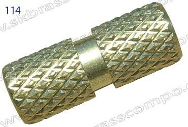 inserts of brass