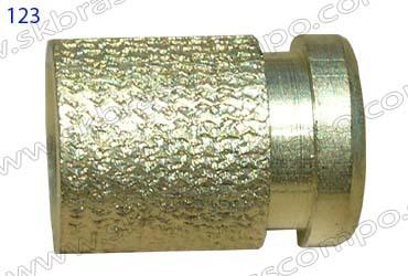 Brass knurled inserts