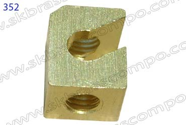 Brass Wood Inserts