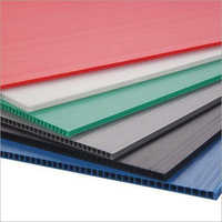 PP Colored Corrugated Sheet