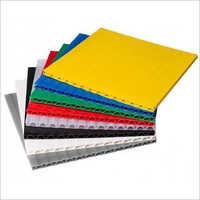 PP Plain Corrugated Sheet