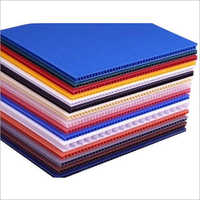 PP Advertising Corrugated Sheet