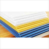 Plain PP Corrugated Sheet