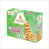 Kesari Pista Biscuits