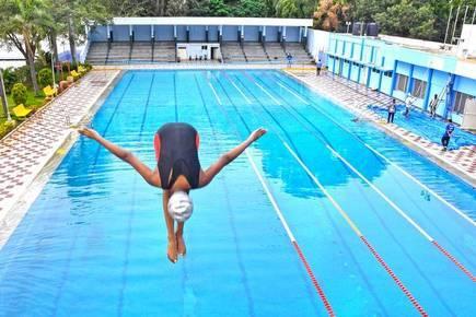 Designer swimming pool