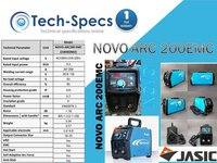 NOVO ARC 200EMC Welding Machine
