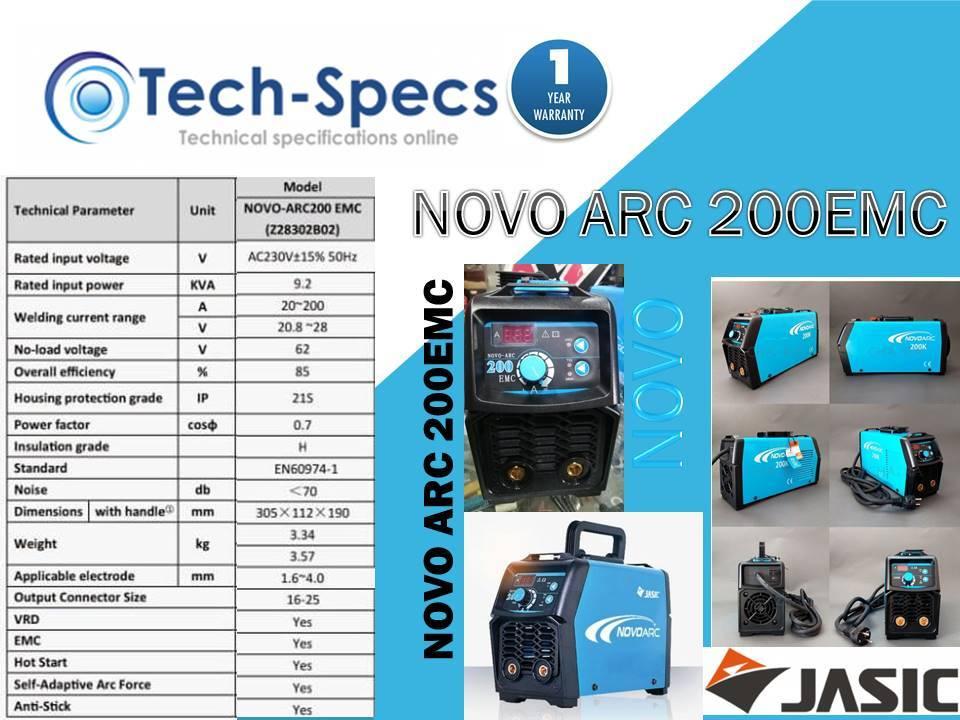 NOVO ARC 200EMC