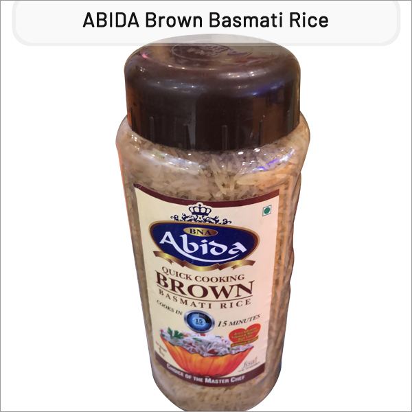 ABIDA 1121 Brown Basmati Rice