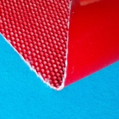 1.3mm thickness silicone calendered fiberglass fabric with wire inserted