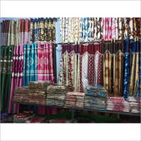 Designer Print Door Curtain