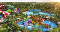 Designer Water Park Construction Project