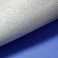 0.68mm Polyurethane(PU) coated fiberglass fabric with wire reinforced one side