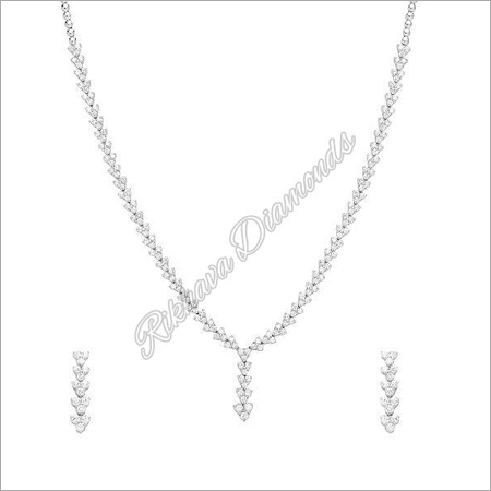 INK-3, INKER-2 Diamond Necklace