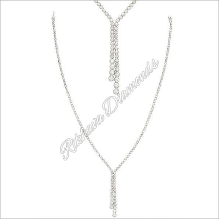 INK-4 Diamond Necklace