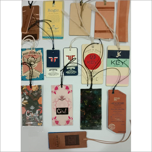 Multicolor Paper Hang Tags