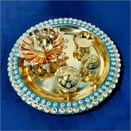 Pooja Round Thali