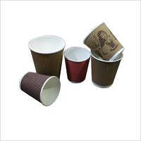Plain Ripple Paper Cups
