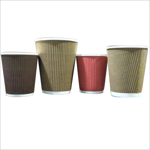 Paper Plain Ripple Cups