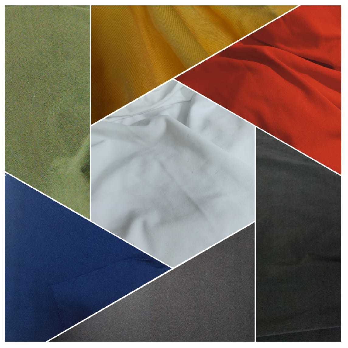 Polyester Silky Lycra ( Zurich micro - 4 way ) Fabric