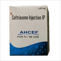 500 mg Ceftriaxone Injection
