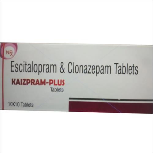 Escitalopram and Clonazepam Tablets
