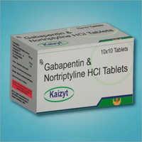 Gabapentin and Nortriptyline HCI Tablets