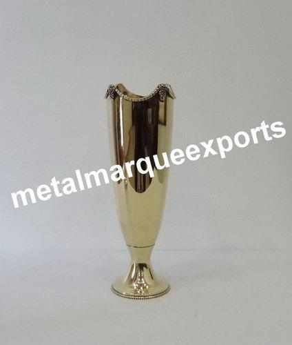 Brass Table Top Flower Vase