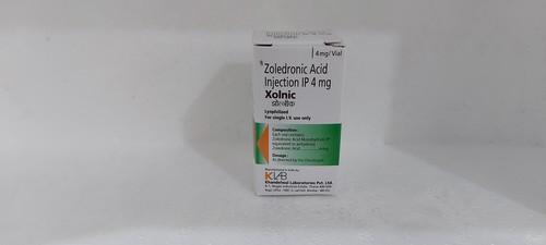 Xolnic - Zoledronic Acid Injection Ip 4 Mg
