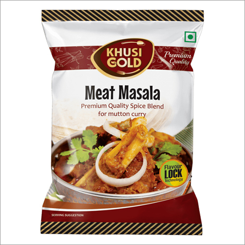 Pouch Packing Meat Masala