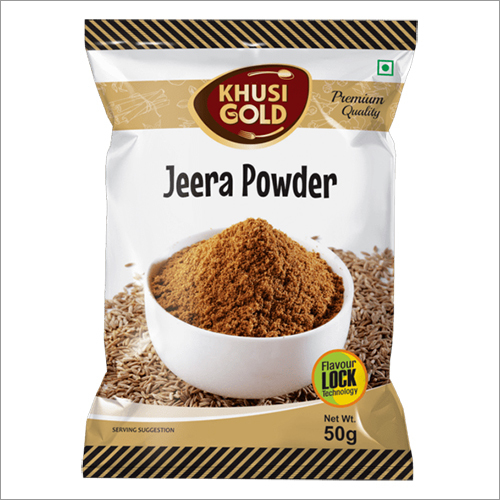 50 gm Pouch Packing Jeera Powder