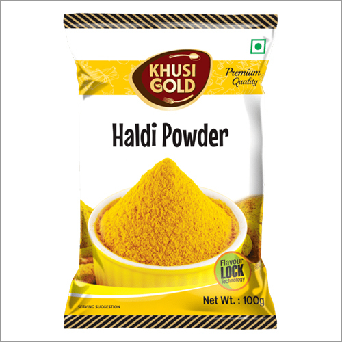 100 gm Pouch Packing Haldi Powder