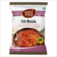 Pouch Packing Fish Masala Powder