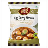 Pouch Packing Egg Curry Masala