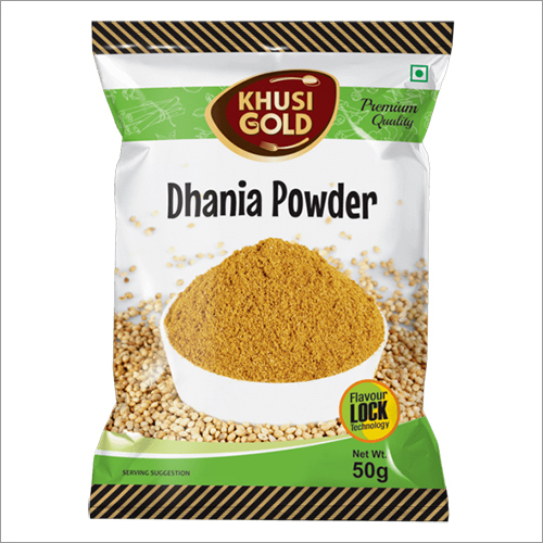 50 gm Pouch Packing Dhania Powder