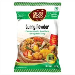 100 gm Pouch Packing Curry Powder