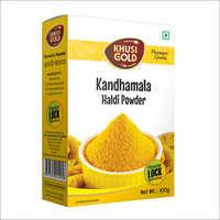 100 gm Box Packing Haldi Powder