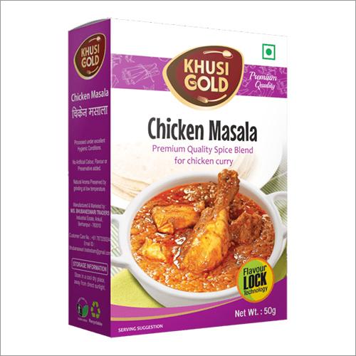 50 gm Box Packing Chicken Masala