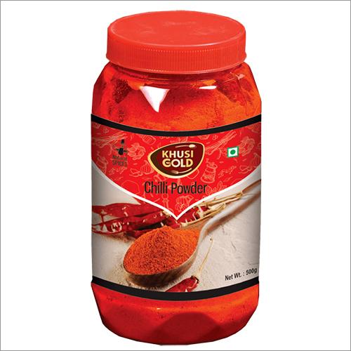 500 gm Bottle Packing Chilli Powder
