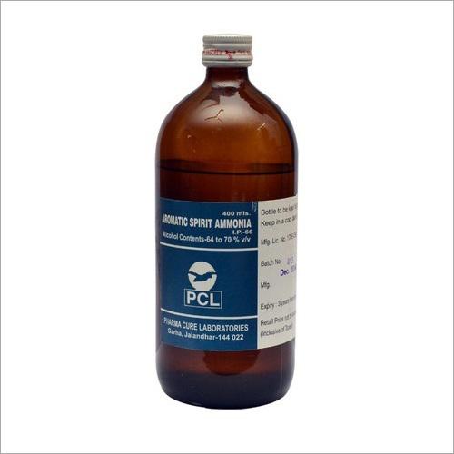 Aromatic Spirit Ammonia
