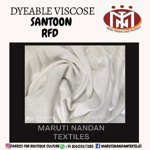 Dyeable Viscose Santoon