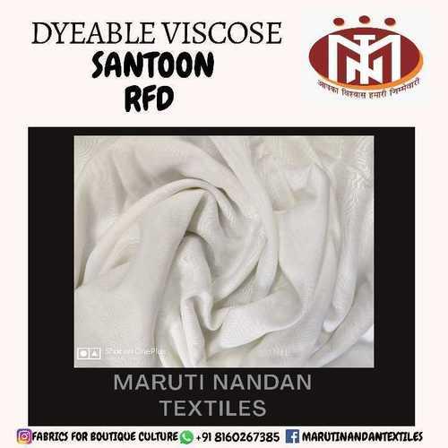 Dyeable Viscose Santoon